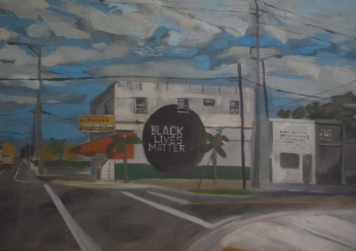 1294 NW 54th St. Miami, FL 33142 (Eddie Arroyo, 2017), courtesy of the artist and Spinello Projects