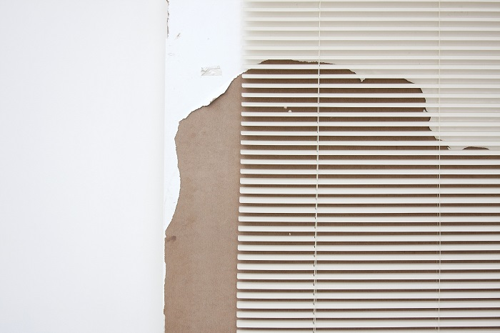 A Degraded Door and Blinds (Leyden Rodriguez-Casanova, 2012)  Courtesy of the artist and Alejandra von Hartz Gallery