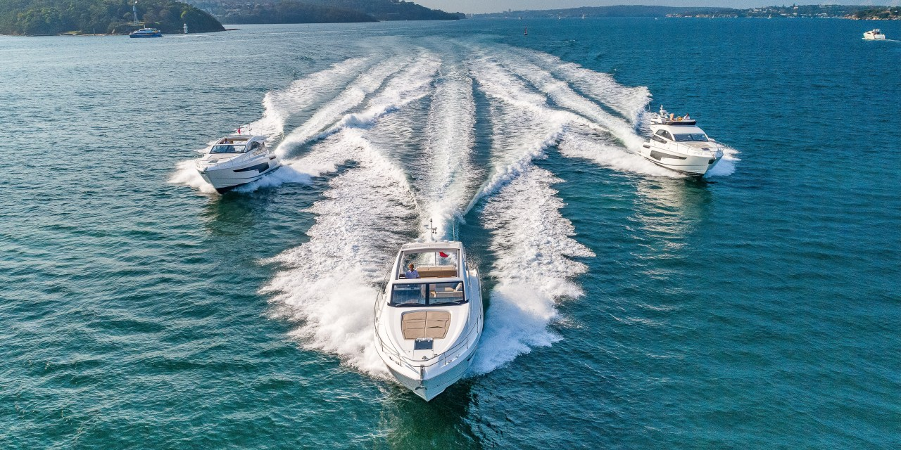 Fairline Yachts releases first images of new 2018 48-foot range