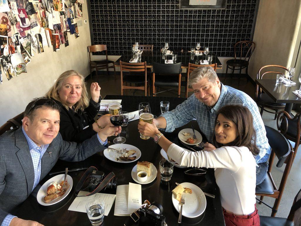 Famed chef Richard Reddingon's casual tratorria family style eatery - Redd Wood