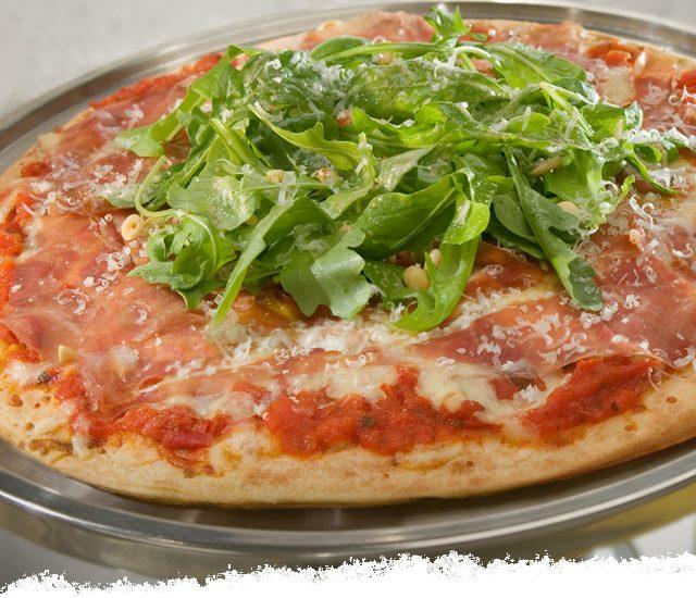 Prosciutto and Arugula Rustica Pizza