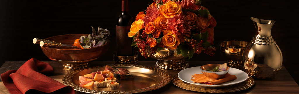 Mary Jurek Design Thanksgiving tablescape