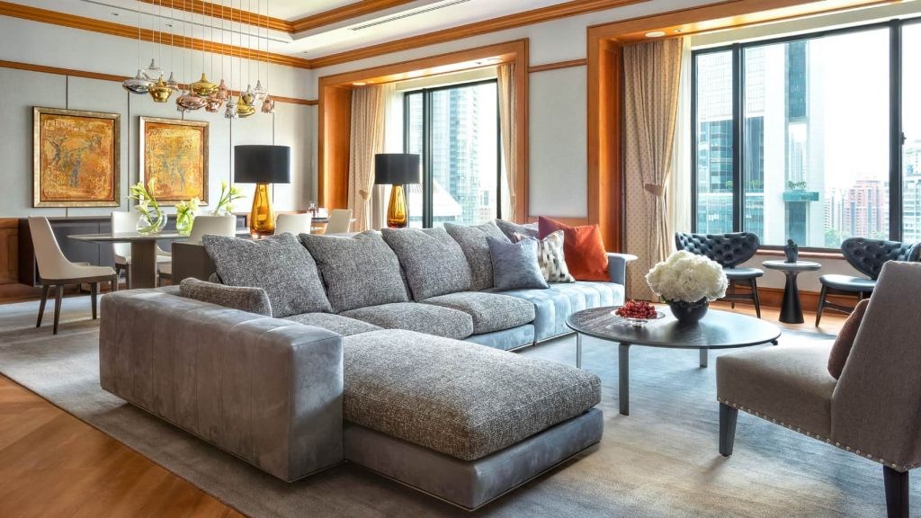 Four Seasons Singapore Governor One-Bedroom Suite