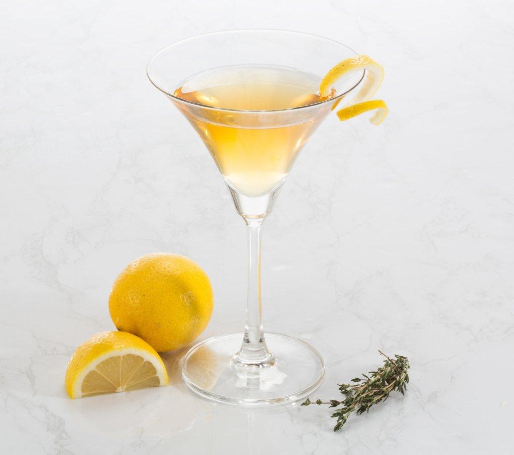 Apricot Spritz Martini