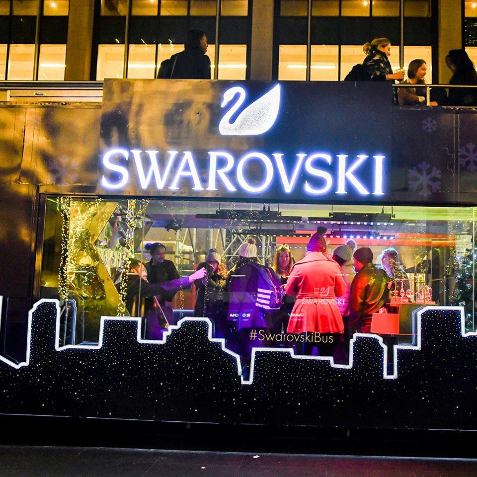 Swarovski Holiday Bus