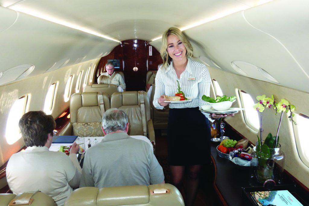 Lakani's 600 Legacy private jet