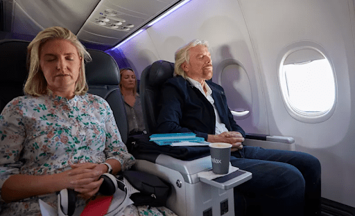 Meditation on a Virgin-Richard Branson Style