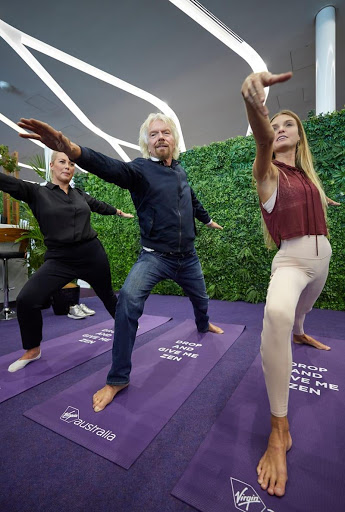 Richard Branson Image courtesy of Virgin Australia