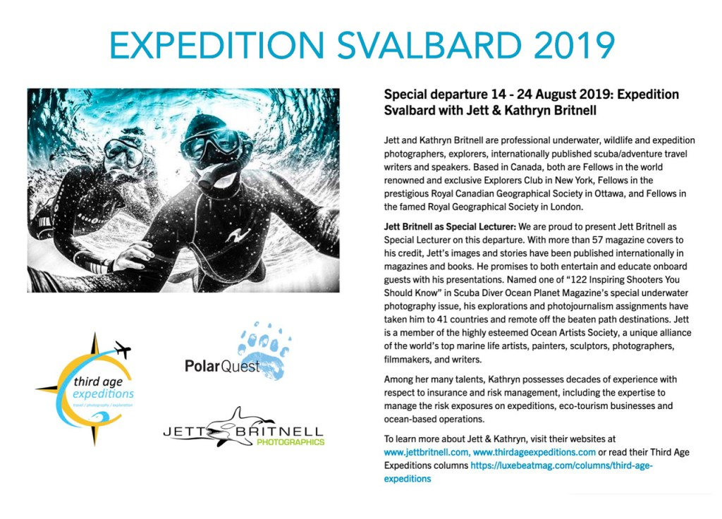 Expedition Svalbard 2019 Blue - Jett Britnell