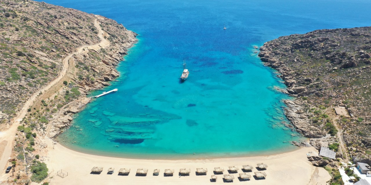 The New Must See Super-Luxe Resort On Greece's Unblemished Island Of Ios
