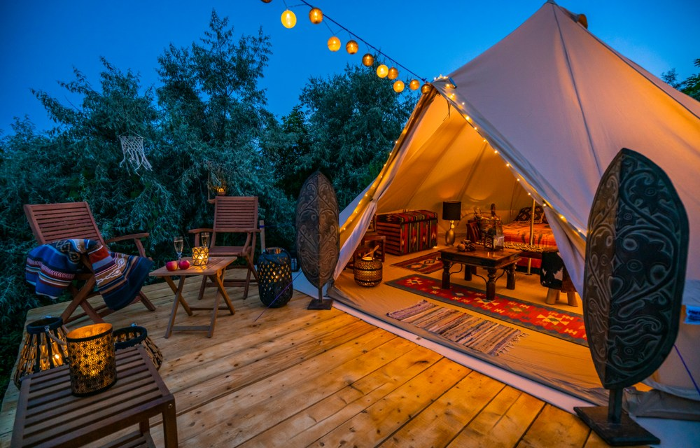 What To Bring When Camping In Luxury