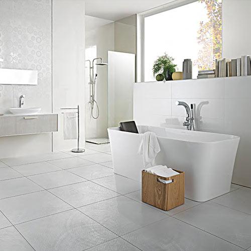 Victoria + Albert Edge stone bath - distributed in Australia by Luxe by design, Brisbane.