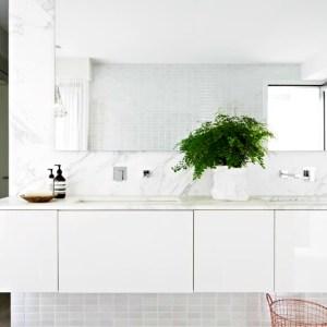 Rebecca Judd's master ensuite features the Victoria + Albert Napoli bath by Luxe by Design, Brisbane.
