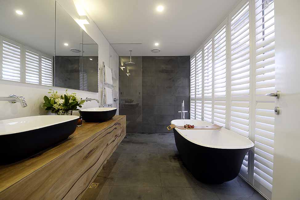 black and white bathroom images albert amiata 60 matte black basin luxe by design 22724