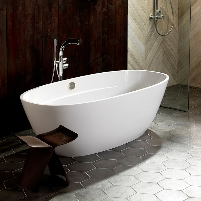 Victoria + Albert Terrassa bath is distributed to Sydney, Melbourne, Brisbane, Canberra and Hobart by Luxe by Design.