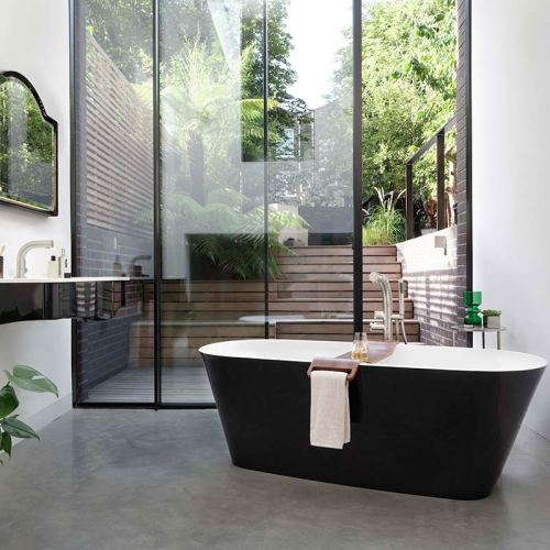 Victoria + Albert Vetralla 2 small freestanding bath 1500mm for apartments. Distributed in Australia by Luxe by Design, Brisbane.
