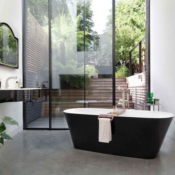 Victoria + Albert Vetralla 2 small freestanding bath 1500mm for apartments. Distributed in Australia by Luxe by Design, Brisbane.