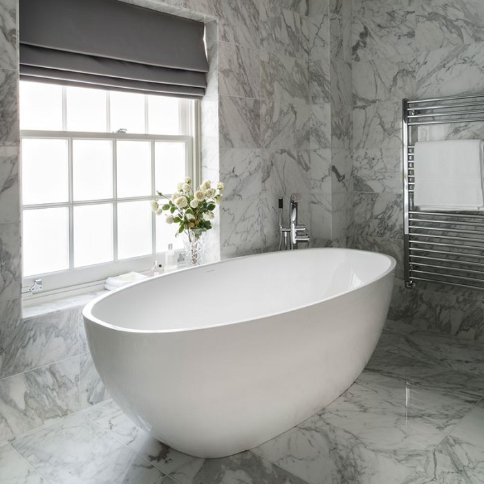Victoria + Albert Barcelona 3 freestanding modern bath. Distributed in Australia by Luxe by Design, Brisbane.