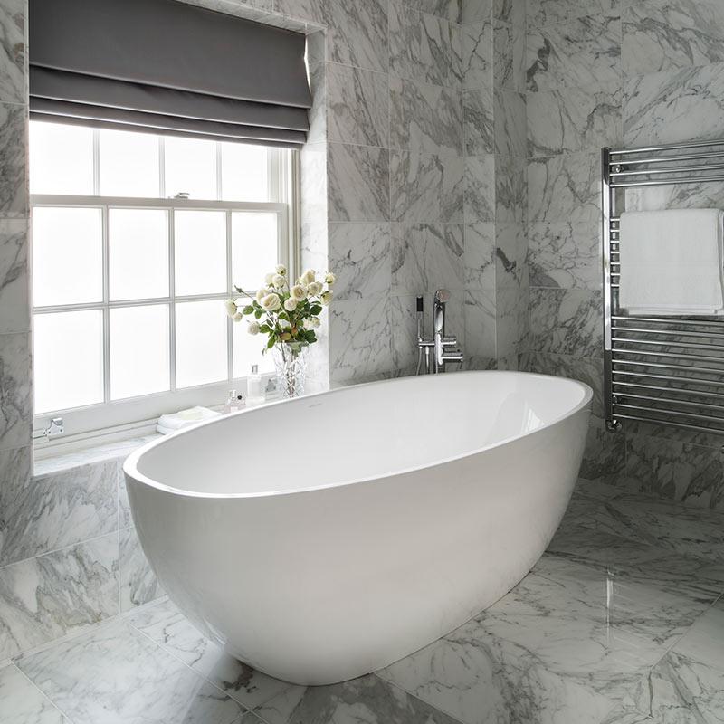 Victoria + Albert Barcelona 3 freestanding modern bath. Distributed in Australia by Luxe by Design, Brisbane.