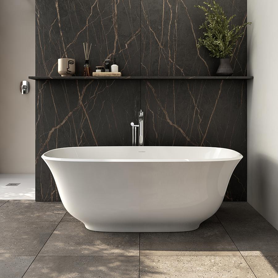 Victoria + Albert Amiata 1500 bath. Distributed in AUstralia by Luxe by Design, Brisbane.