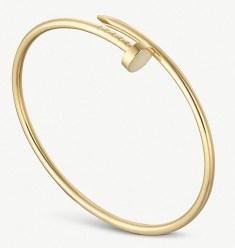 Cartier Juste un Clou 18ct yellow-gold bracelet