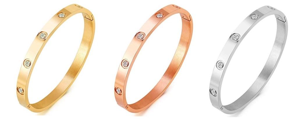 Cartier Love Diamond Bracelets Dupes - Cartier Dupes
