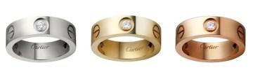 Cartier Love Diamond Rings - Cartier Dupes