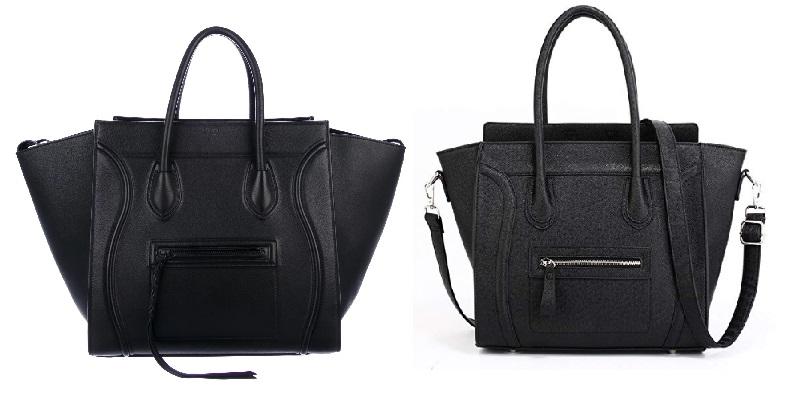 Celine Black Lugagge Handbag and Celine Bags Dupes
