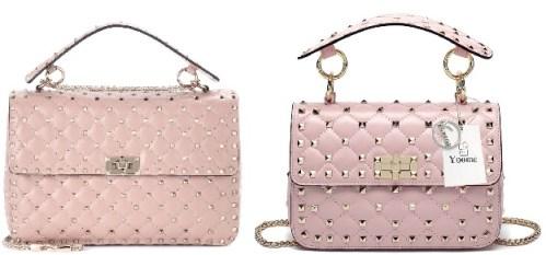 Valentino Pink Rockstud Bag and Valentino Bag Alternatives