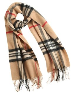 Classic Cashmere Burberry Scarf Dupe