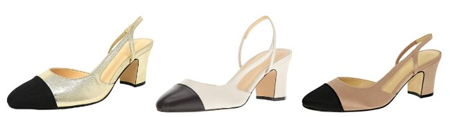 Nude Chanel Slingback Dupes
