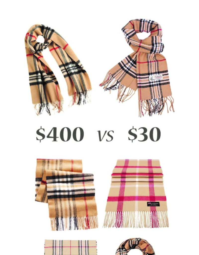 These Are The Best Burberry Scarf Replicas Under 100