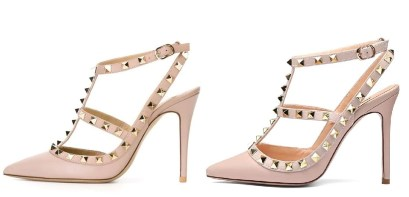 Valentino Rockstud Pink Dupes