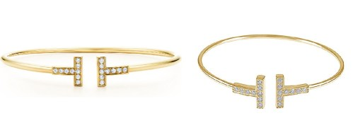 Gold Tiffany T Bracelet & Tiffany T Gold Bracelet Dupes