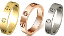 Cartier 4mm Diamond Love Rings Dupes