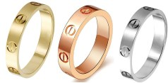 Cartier 4mm Love Rings Dupes