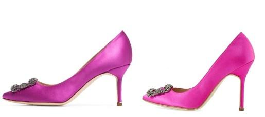 Pink Manolo Blahnik Hangisi Dupes