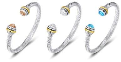 David Yurman Classic Cable Bracelets Dupes On Amazon