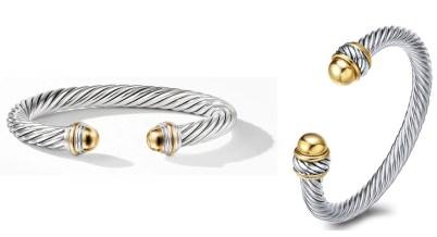 David Yurman Classic Cable Bracelets Dupes
