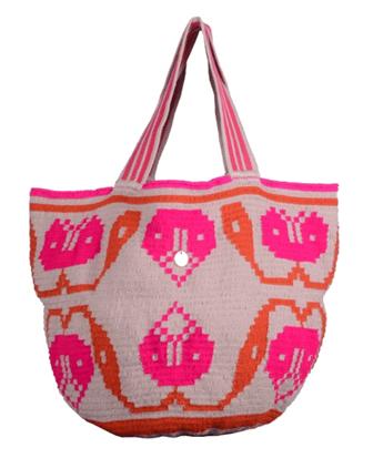 Cotton crochet handbag, 280 €