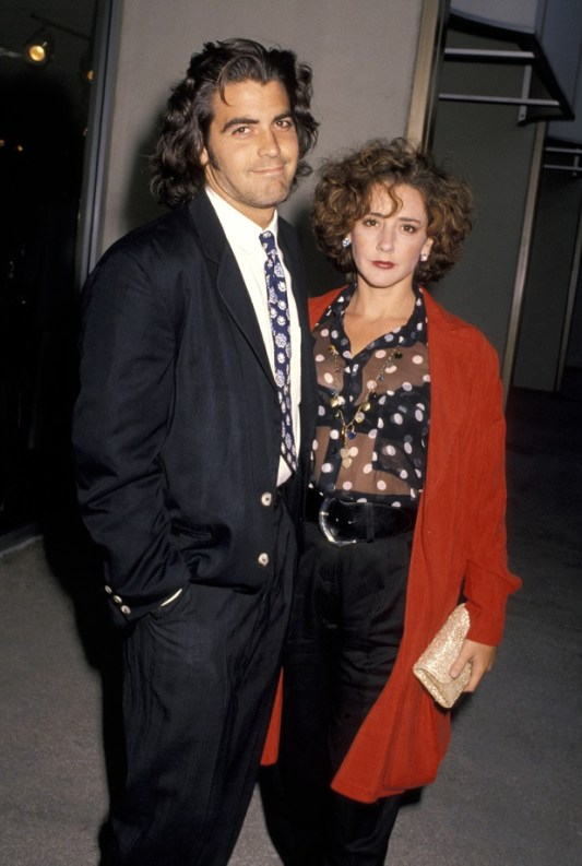 Once Clooney was married to Talia Balsom