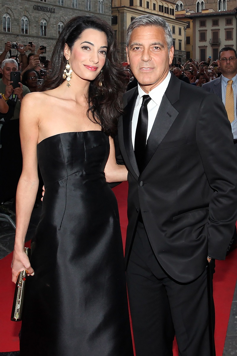 And Amal took only a year since acquaintance to go down the aisle with George!