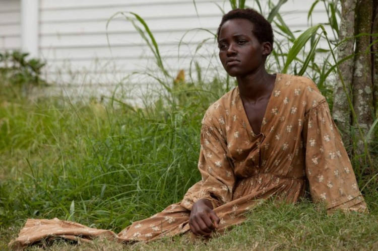 Lupita Nyong'o in the movie  12 years of slavery