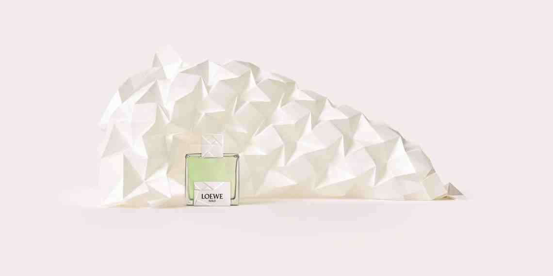 Perfume novelty from Loewe is inspired by the Japanese art of origami