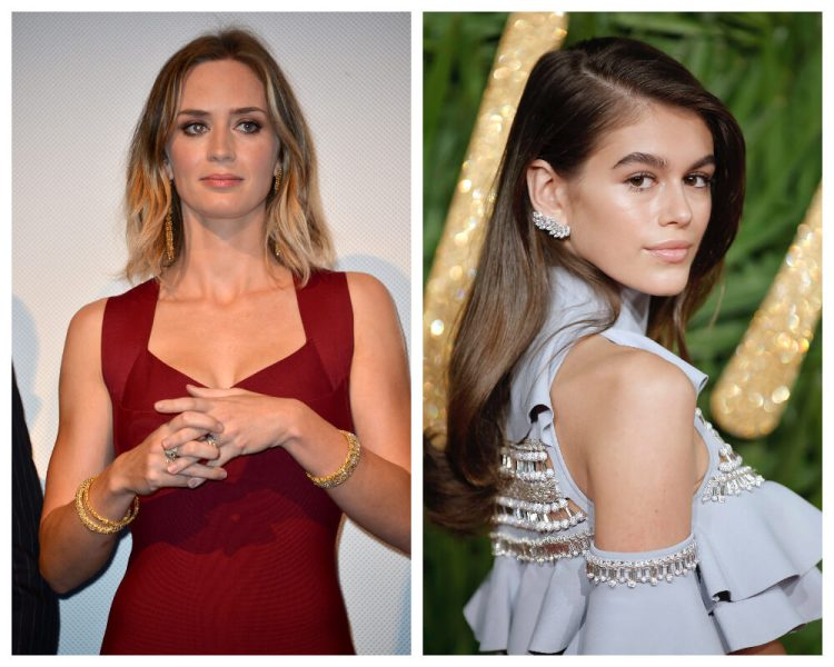 Emily Blunt andKaia Gerber 6 new ways to wear waves and curls 1