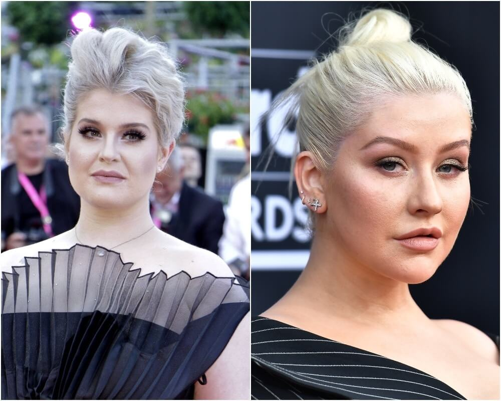 Kelly Osbourne and Christina Aguilera Celebrity Wars: who among the stars can not tolerate each other