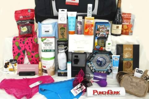 Secret Room Events September 2018 Red Carpet Retreat Celebrity Gift Bags