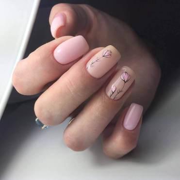 Office manicure ideas minimalism