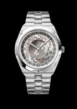 World Time Overseas cadran gris7700V-110A-B129