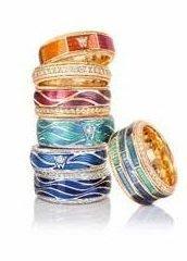 Wellendorff enamel rings